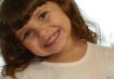 Júlia, 3 anos, filha de Cristiane