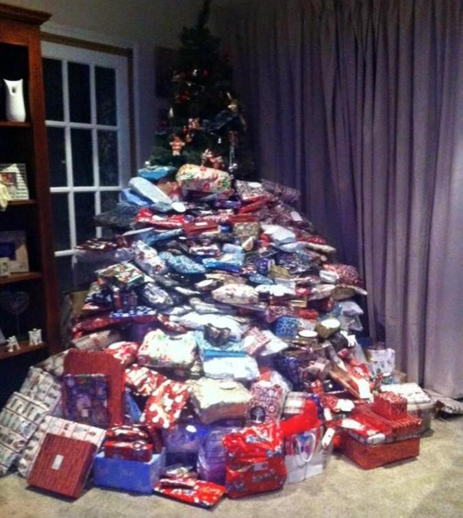 Mãe compra 300 presentes