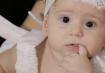 Maria Heloísa, 9 meses, filha de Carlos e Katlheen