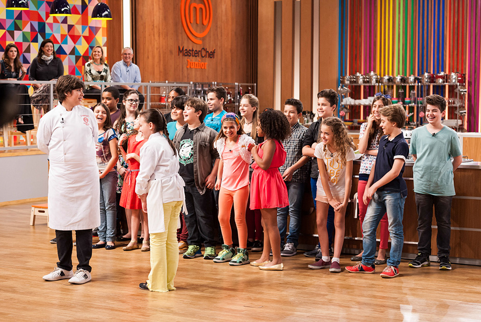 Comemoração para saber quem é o grande vencedor: Lorenzo! Foto: divulgação Band