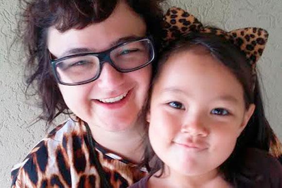 Gica e sua filha