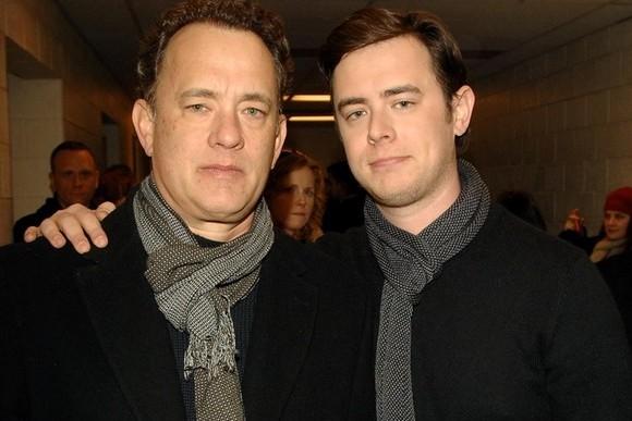Tom e Colin Hanks
