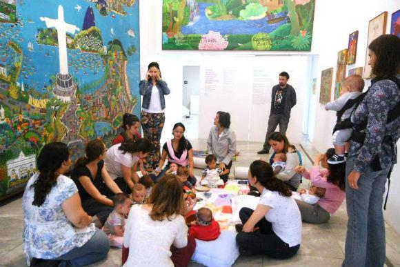 Programação para bebês no Museu de Arte Naif (Foto: Reprodução/ Site MIAN)