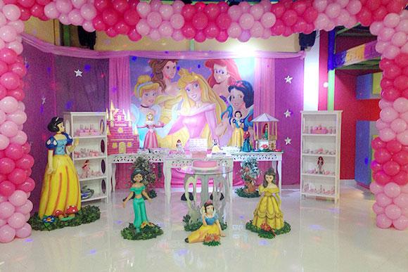 As Princesas da Disney continuam em alta (Foto: Espaço Encantado)