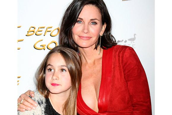 """Courtney Cox, de """"Friends"""", começou a ter depressão quando sua filha completou seis meses (Foto: Shutterstock)"""