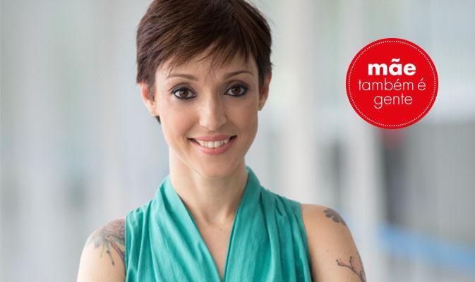 Cris Guerra, mãe de Francisco é publicitária, escritora e blogeueira