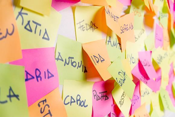 O IBGE divulgou uma lista com os nomes mais frequentes no Brasil (Foto: Shutterstock)