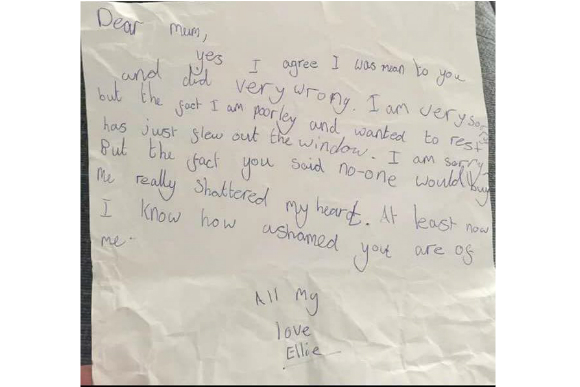 Carta da Ellie