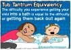 #2 A guerra na hora do banho: A dificuldade de colocar o seu filho na banheira  é a mesma para tirá-lo do banho