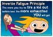 #4 O princípio inverso do cansaço: Quanto mais você tenta cansar o seu filho antes dele ir dormir, mais cansada você fica