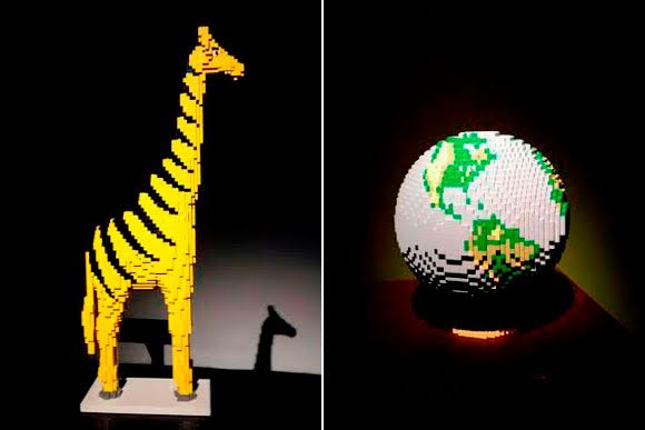 A Arte de Criar com Lego - The Art of the Brick