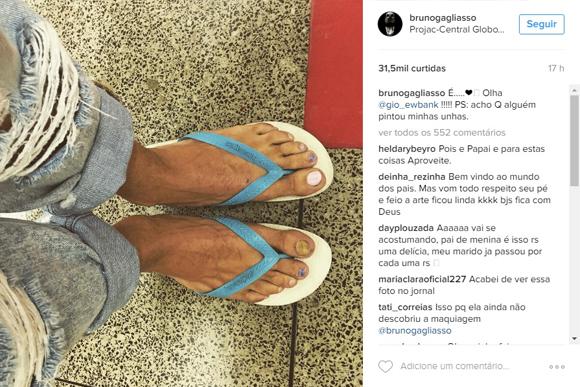 (Foto: Reprodução / Instagram @brunogagliasso)