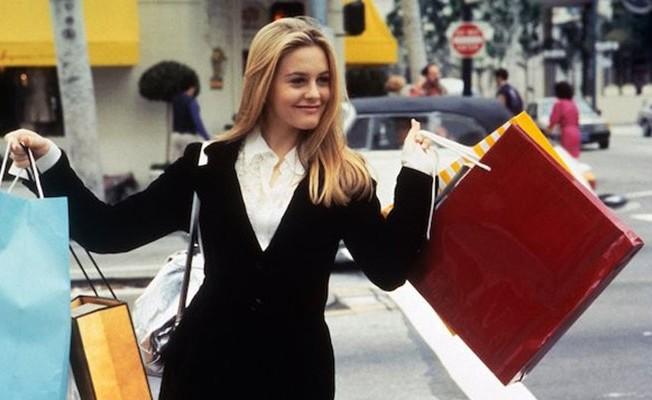 """Alicia Silverstone, como """"Patricinha de Beverly Hills"""", tem hoje 39 anos"""