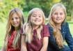 Princesas Catharina Amalia, Alexia e Ariane, filhas de Willem Alexander e Maxima Zorriguieta, da Holanda