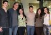 Vinicius, Beatriz e Laura, filhos dos jornalistas Fátima Bernardes e William Bonner