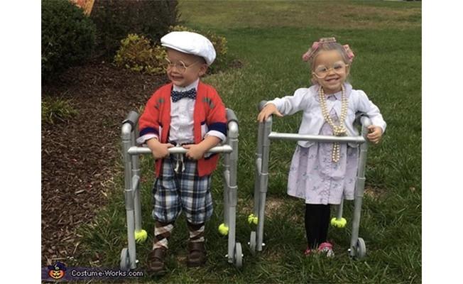 criancas vestidas de idosos 1