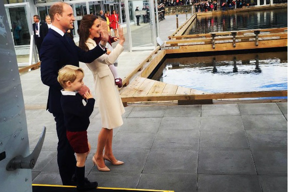 família real no canada edit
