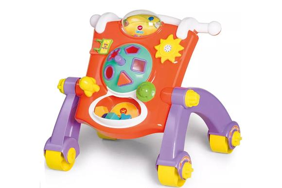 Andador didático, Calesita Brinquedos, R$169,90 - buscape.com.br