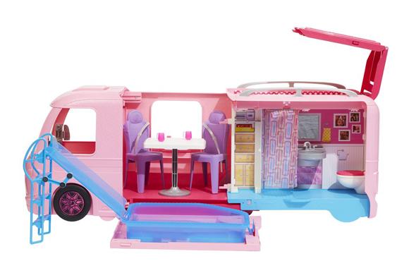 Trailer dos sonhos da Barbie, Mattel, R$529,99 - rihappy.com.br