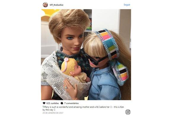 (Foto: reprodução do Instagram/tiff_thebarbie)