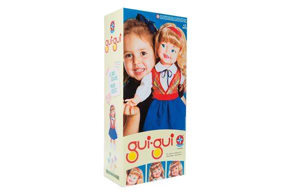 Boneca Gui-Gui Com Vestido Branco e Casaquinho Vermelho - Estrela R$151,99 submarino.com.br (2)