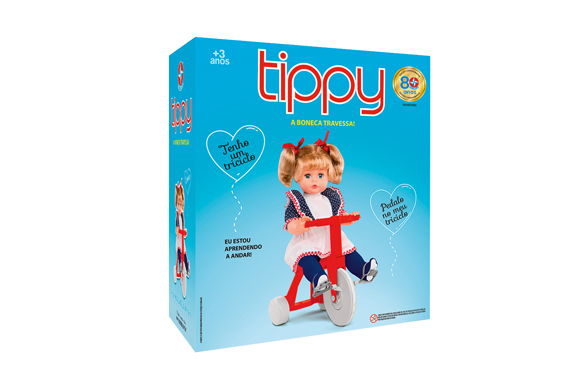 Boneca Tippy Com Triciclo Vermelho - Estrela R$199,99 magazineluiza.com.br (2)