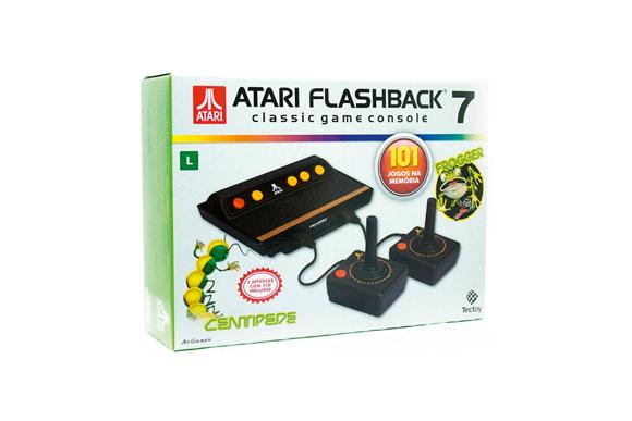 Console Atari Flashback 7 com 101 Jogos na Memória Tectoy R$329,00 pontofrio.com.br (2)