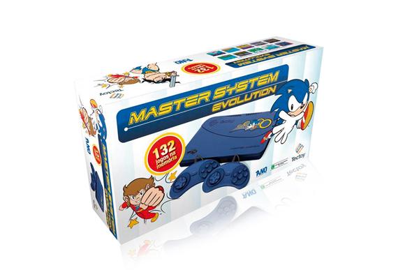 Console TecToy Master System Evolution c 132 Jogos – Blue R$199,99 pontofrio.com.br (2)