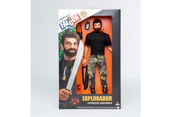 Falcon Explorador 80 anos - Estrela R$120,51 magazineluiza.com.br