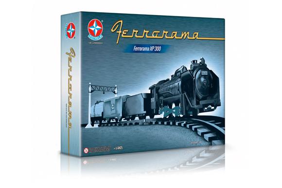 Ferrorama XP300 80 anos - Estrela R$368,99 shopfacil.com.br (2)
