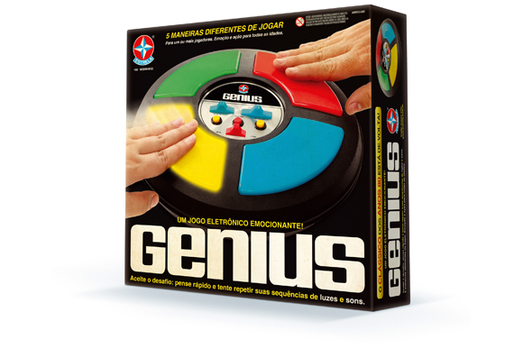 Genius 80 anos - Estrela R$157,99 walmart.com.br