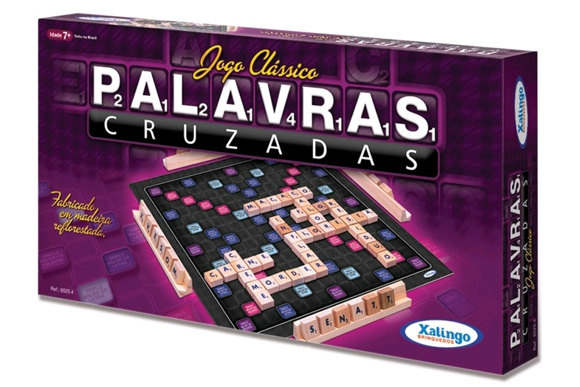 Palavras Cruzadas - xalingo R$34,90 agomes.com.br