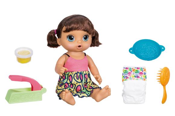 Baby Alive Adoro Macarrão R$287,99 americanas.com.br