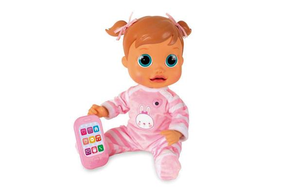 Multikids Boneca Interativa Baby Wow R$289,99 americanas.com.br