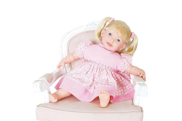 Super Toys Boneca Adoro Meu Bebe Fala 115 Frases 274 R$53,99 americanas.com.br