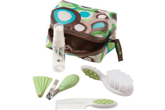 conjunto higiene 10 peças, safety 1st, R$77,90