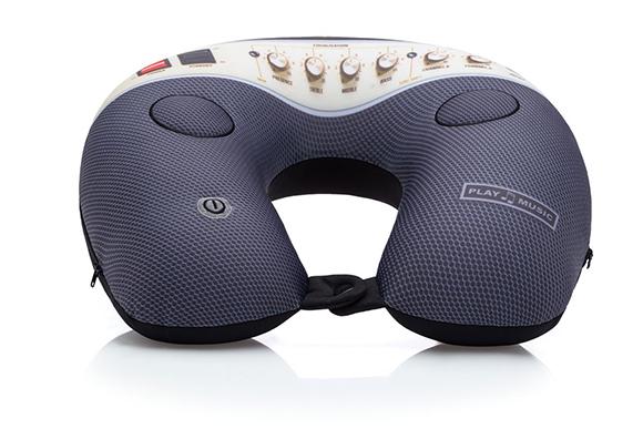Essa almofada toca música e também faz massagem, com três níveis de intensidade. Imaginarium, R$ 149,90 - Foto: divulgação