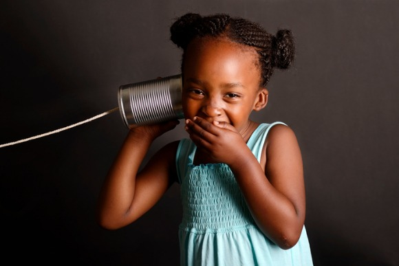 african-girl-with-a-tin-and-string-on-her-ear-picture-id166444116