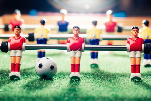 table-soccer-football-game-picture-id898541222