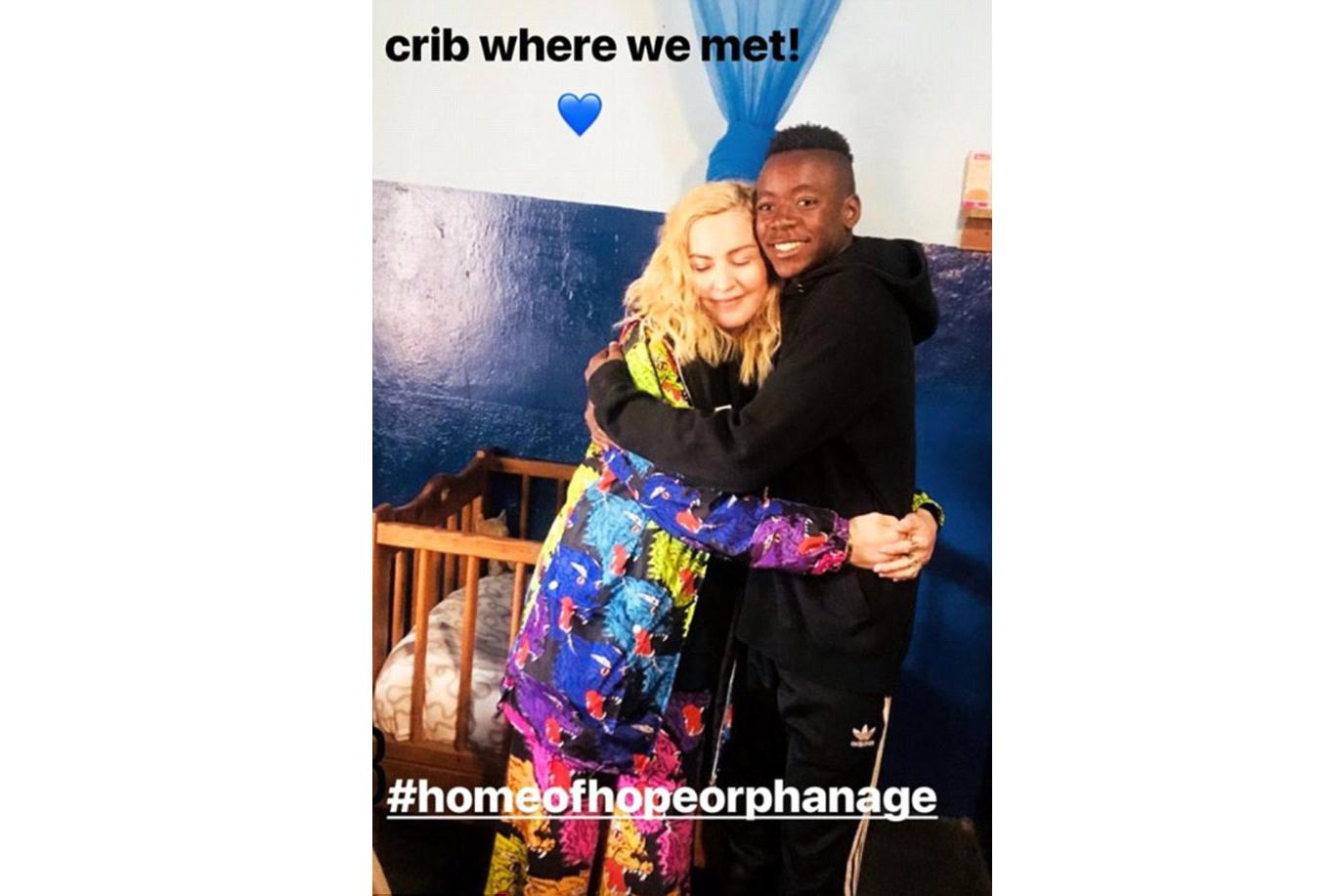 (Reprodução Instagram / @madonna)