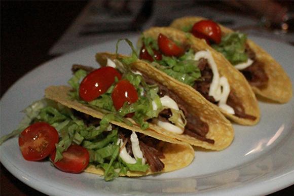 (Tacos do Restaurante Guadalupe. Foto: Thaís Martins)