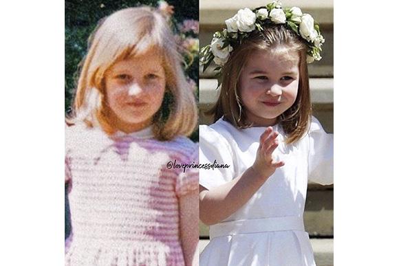 Princesa Charlotte se parece com Princesa Diana (Foto: iStock)