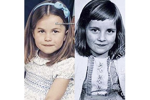 Semelhanças entre Princesa Charlotte e Princesa Diana (Foto: iStock)