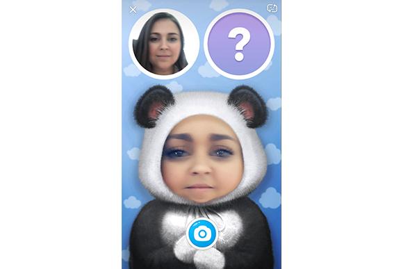 Snapchat cria filtro que mostra como será o seu bebê (Foto: Reprodução / Snapchat)