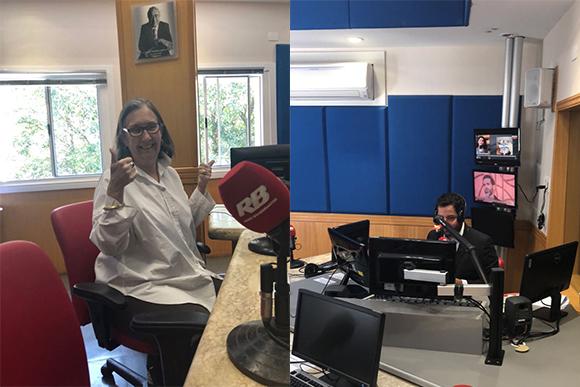 Monica-na-rádio-bandeirantes-estreia-do-programa-da-pais-e-filhos
