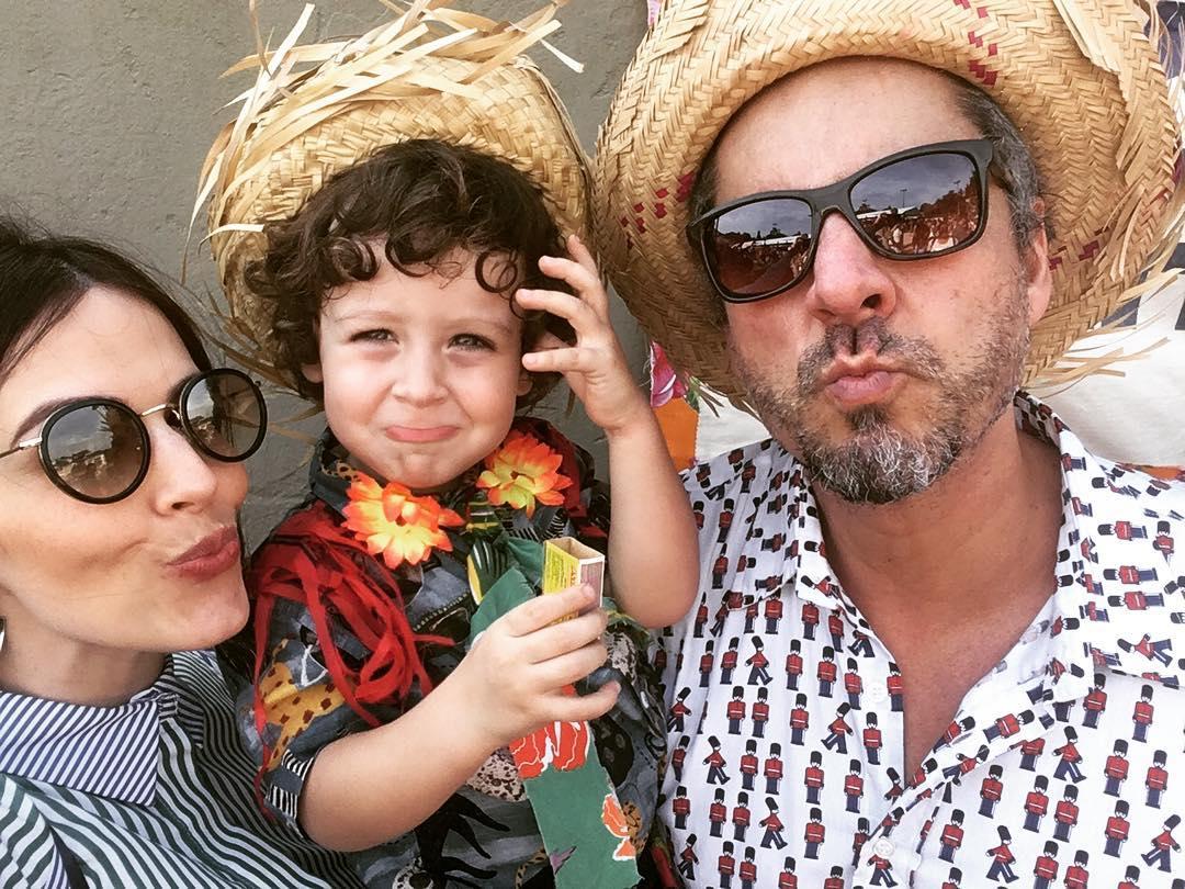 Nasceu o segundo filho de Alexandre Nero e Karen Brusttolin (Foto: Reprodução/ Instagram)