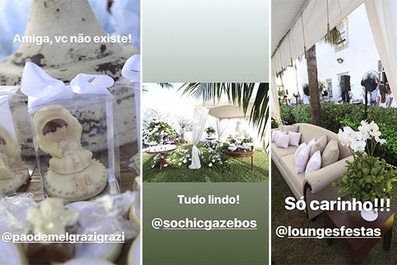 Ivete Sangalo posta fotos da decoração do batizado das filhas gêmeas (Foto: Reprodução/ Instagram @ivetesangalo)
