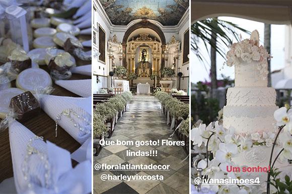 Decoração do batizado das filhas gêmeas de Ivete Sangalo (Foto: Reprodução/ Instagram @ivetesangalo)