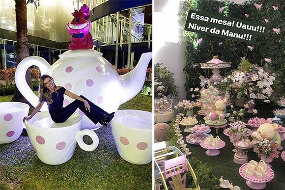 Eliana comemora aniversário da filha Manuela com decoração incrível (Foto: Reprodução/ Instagram @andreaguima5)