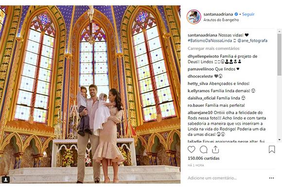 Reprodução Instagram / @santanaadriana